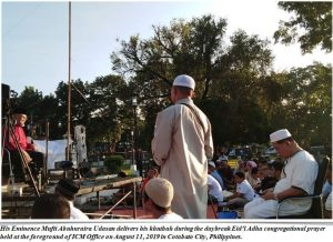 Eid Khutbah:  Mufti of the Bangsamoro Coins 3-Prophethood of Abraham with MORAL GOVERNANCE